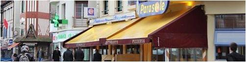 Restaurant Il Parasole Trouville